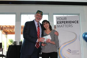 Judy Christman receives Christine Tarr Award