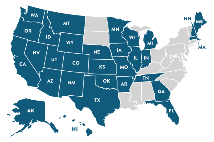 APM States We Are Licensed In translucent
