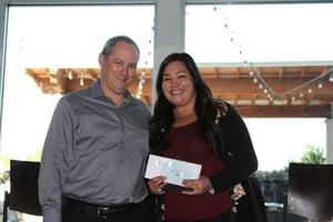 Ashley Aguon receives APM Leadership Award