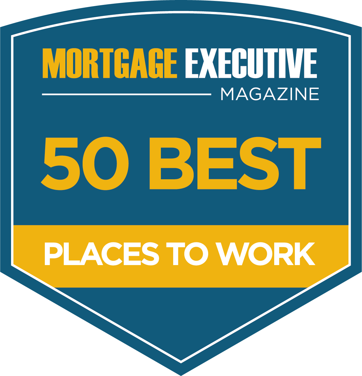 Mortgage Executive Magazine Best Place to Work Award