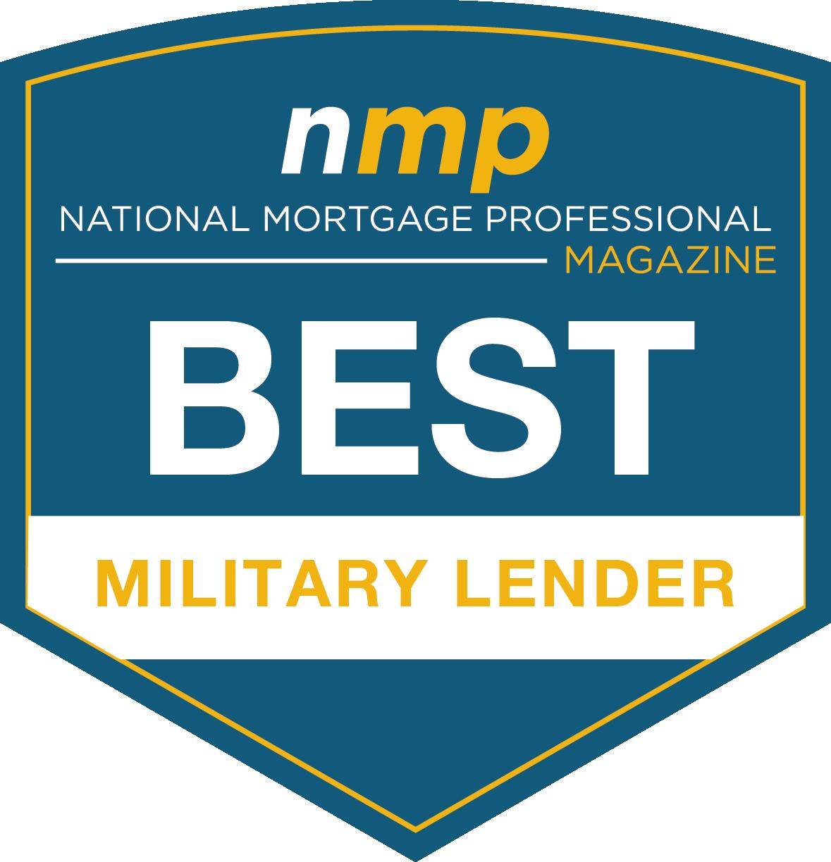 NMP Magazine Best Military Lender Award
