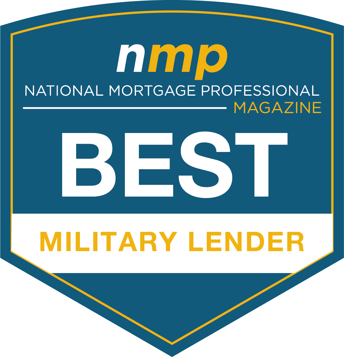 NMP Magazine Best Military Lender Award