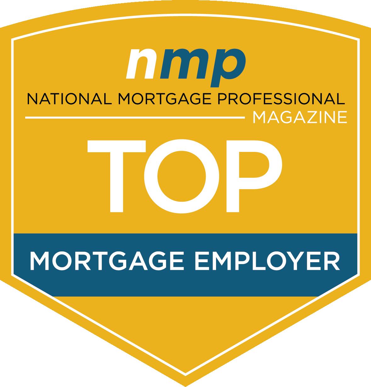 NMP Magazine Top Mortgage Employer Award
