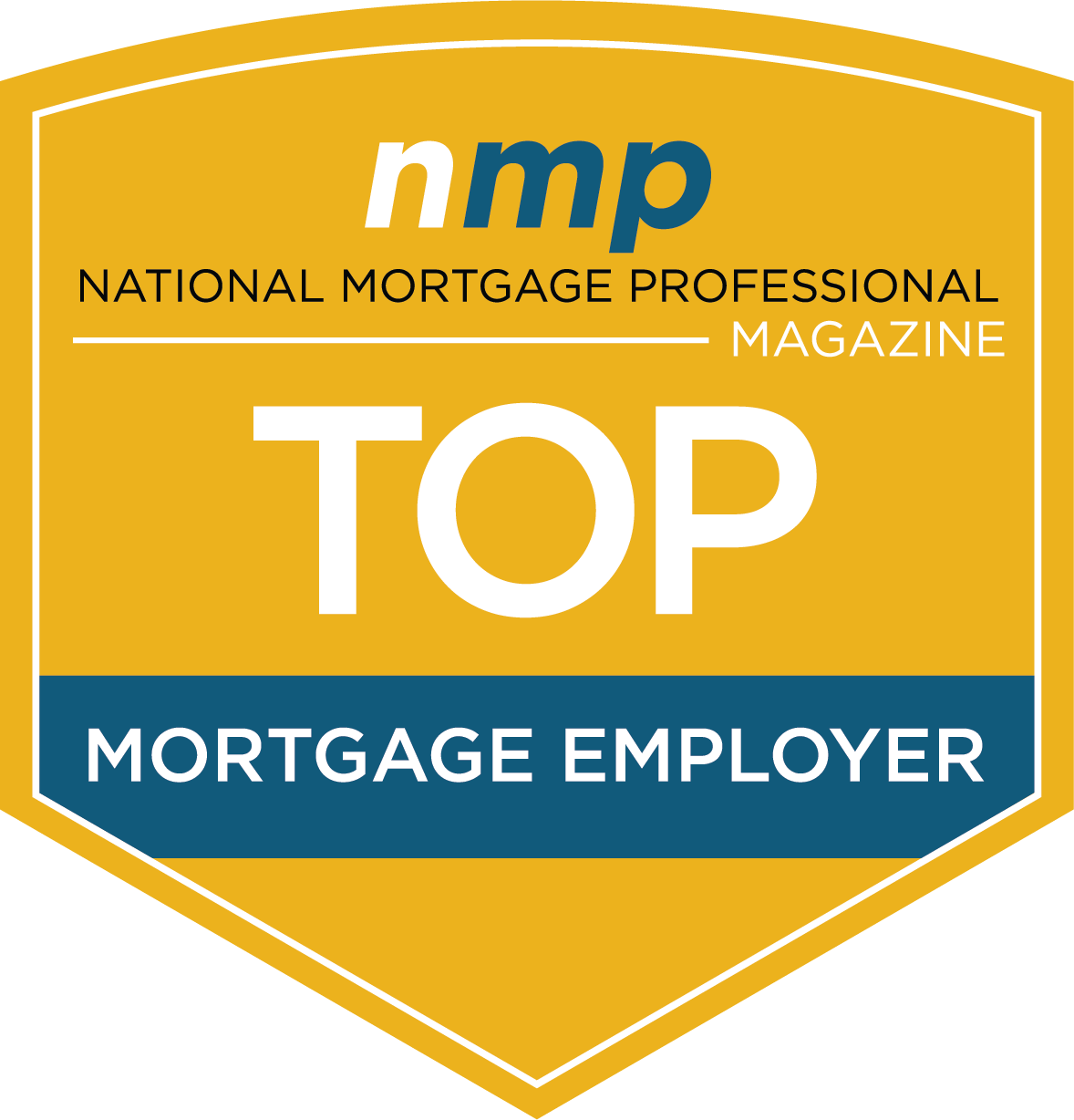 NMP Magazine Top Mortgage Employer Award