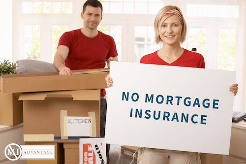 no mortgage insurance needed