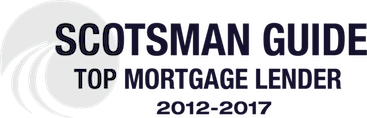 Scotsman Guide Top Mortgage Lender 2012 to 2017