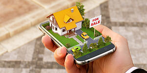 Shopping for a home from a smartphone