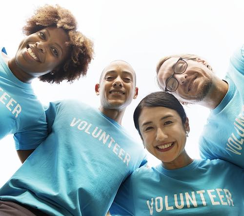 Employee volunteerism in the community