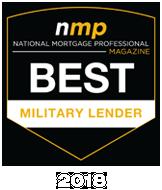 2018 APM Best Military Lender