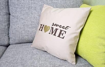 home sweet home pillow decor