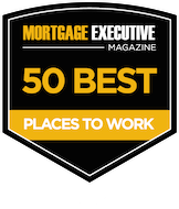 Mortgage Executive Magazine 50 Best places to work 2014 to 2017