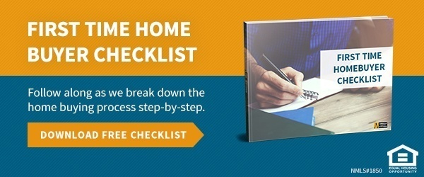 Download first time home buyer checklist
