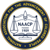 NAACP, National Association for the Advancement of Colored People logo