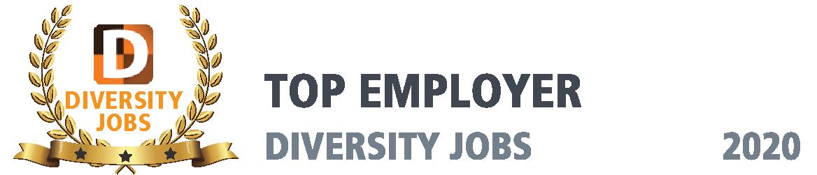Diversity Jobs Award Top Employer, 2020