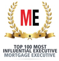 Mortgage Executive Award, Top 100 most influential executive