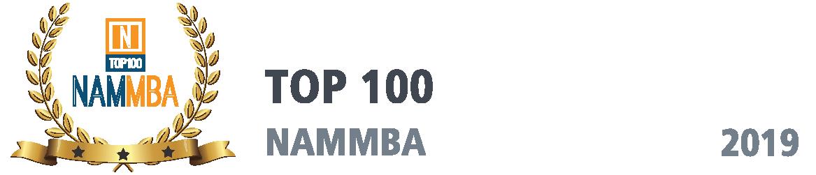 NAMMBA Award, Top 100 Lenders, 2019