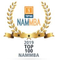 NAMMBA Award, Top 100, 2019