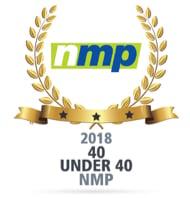 NMP Award, Top 40 executives under 40, 2018