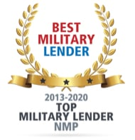 NMP Award, Best Military Lender, 2018 thru 2019
