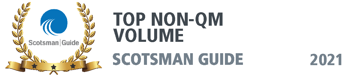 SCOTSMAN Award - Top Non-QM Volume
