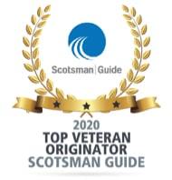 Scotsman Guide Award, Top Veteran Originator, 2020