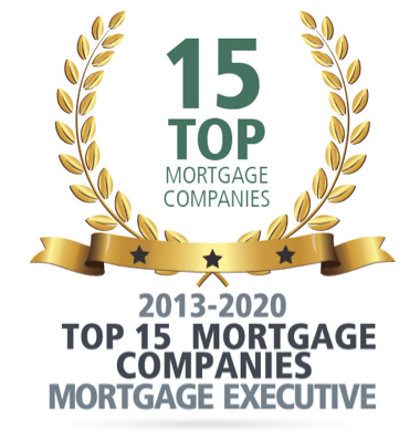 Top 15 Mortgage Company By Mortgage Executive